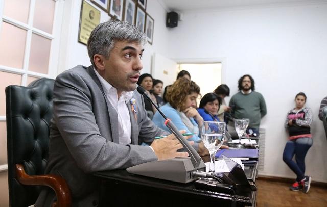 Fuerte reacción del concejal Paulino Rossi contra Luis Capellano