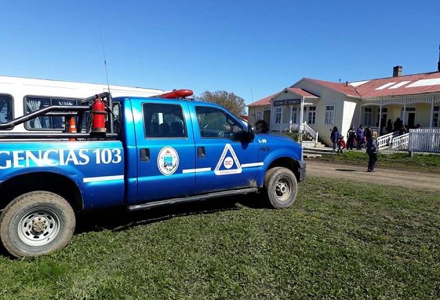 Defensa Civil lleva adelante simulacros de evacuación masiva en diversas escuelas