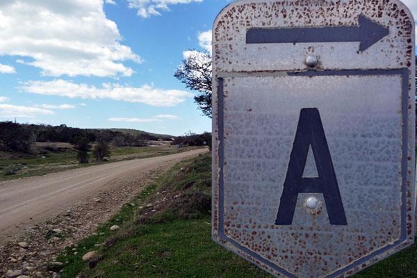 La Ruta Compementaria A lleva a Cabo San Pablo.