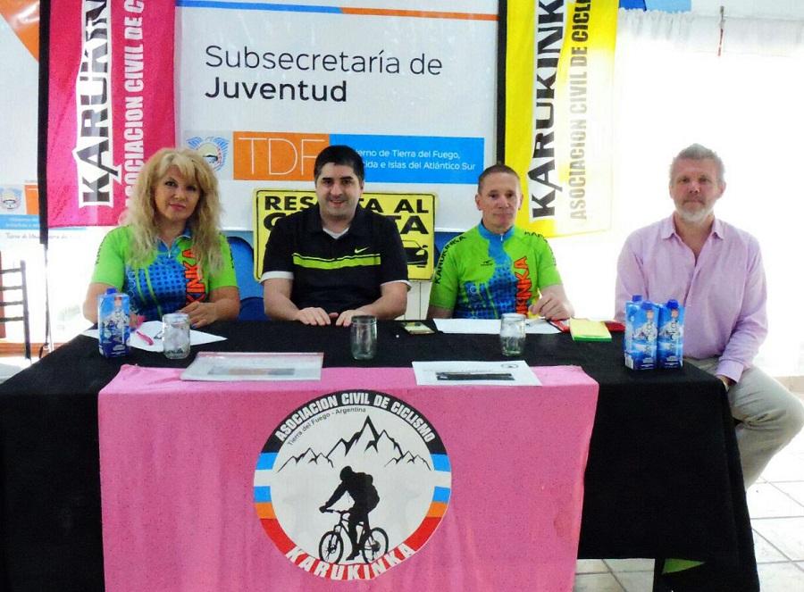 Lanzamiento del 1° Rally Maratón del Confín del Mundo