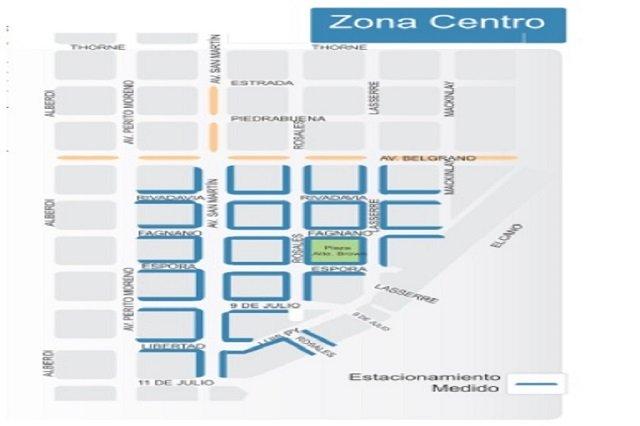 Rige el servicio en la nueva zona de cobertura del estacionamiento medido