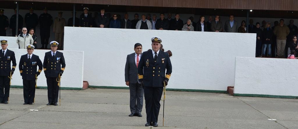 El concejal Alejandro Nogar participó del 138 Aniversario de la Infantería de Marina