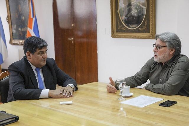 """El vicegobernador Juan Carlos Arcando recibió al pastor del Centro Cristiano """"Nueva Vida"""""""