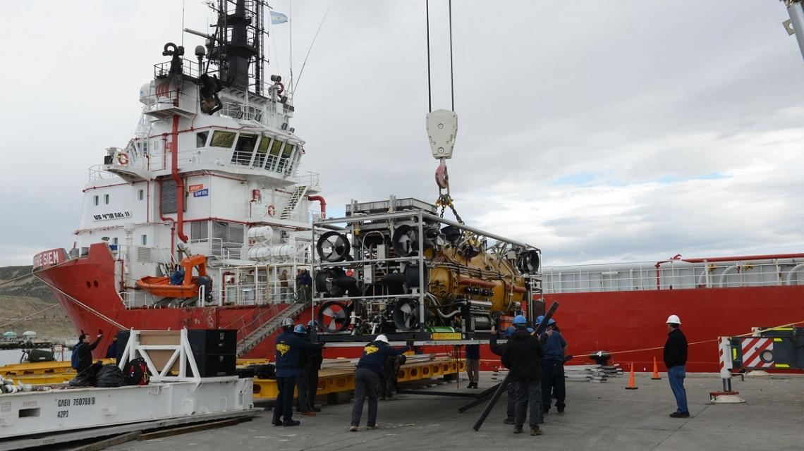 El minisubmarino ya está camino a buscar ARA San Juan