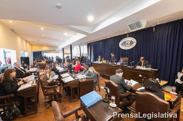 Legislatura: Se llevará adelante una sesión especial el miércoles 6