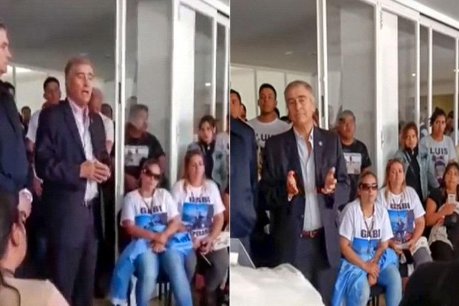 Tensa reunión entre Aguad y familiares de los 44 tripulantes del ARA San Juan