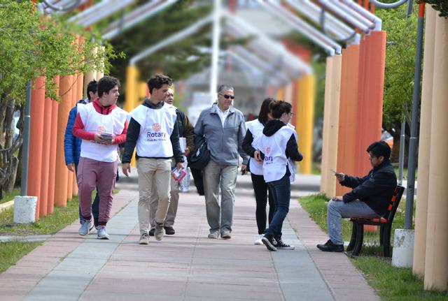 El Rotary Club Río Grande, llevó adelante una campaña de concientización