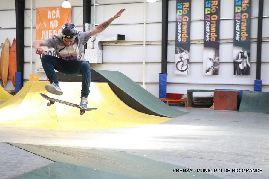 Se disputó en el Skate Park el Campeonato de Skate Copa Freak Spirit