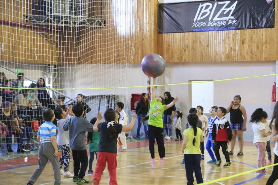 Se realizó el cierre de actividades de las Escuelas de Iniciación Deportiva