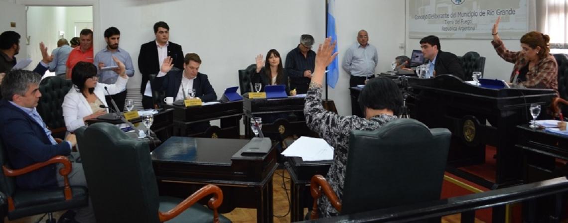 El Concejo Deliberante aprobó de forma unánime el Presupuesto 2018