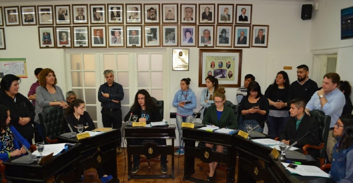 Concejo Deliberante: Adolescentes riograndenses fueron concejales por un día