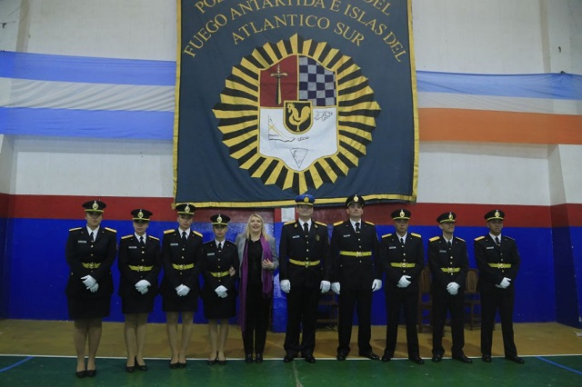Histórica incorporación: Sumaron 12 oficiales y 137 agentes a la Policía provincial