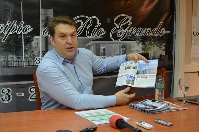 El concejal Raúl Von Der Thusen rindió cuentas de su gestión