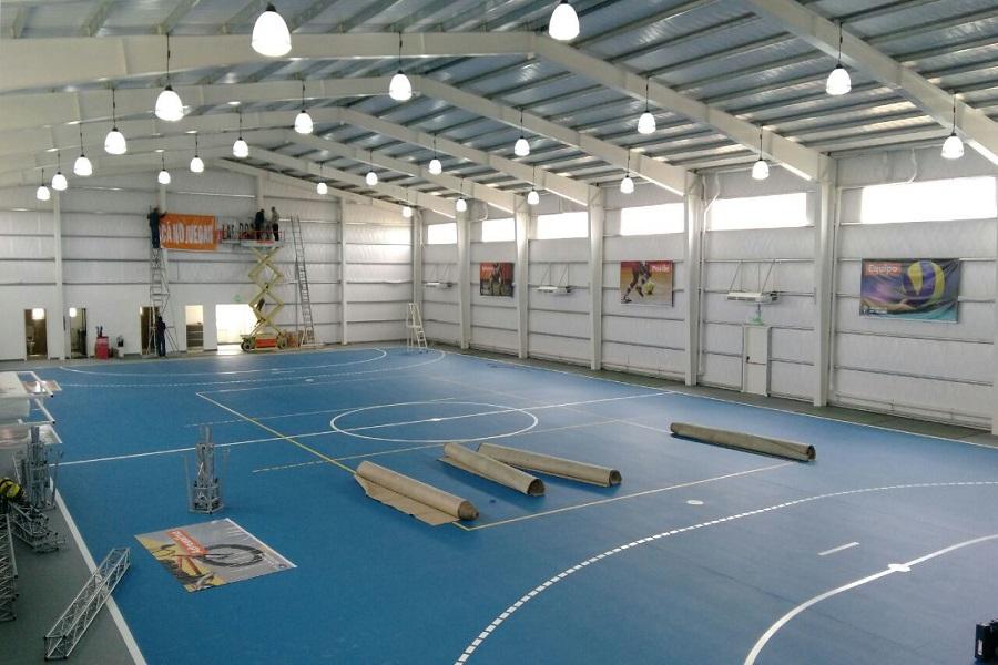 Este sábado se inaugurará el Primer Polideportivo del Barrio Malvinas Argentinas