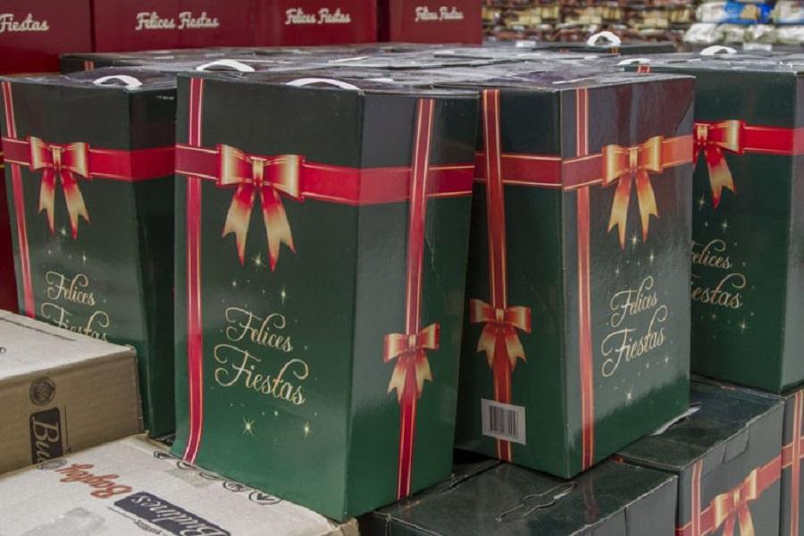 Títulares del programa Red Sol recibirán una caja navideña