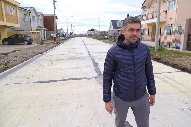 El concejal Rossi destacó la importancia de la obra vial en Río Grande