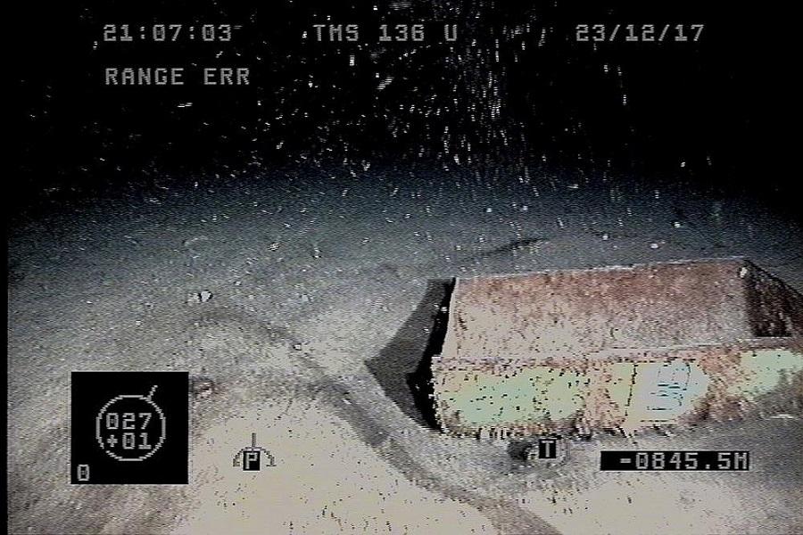 ARA San Juan:El mal clima impide investigar tres nuevos rastros en la profundidad