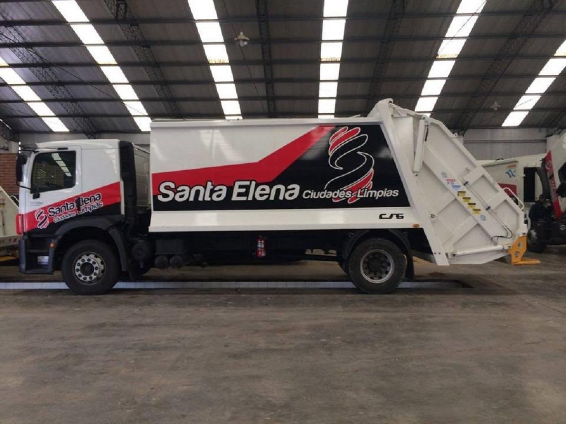 Santa Elena fue adjudicada para hacerse cargo del servicio de recolección