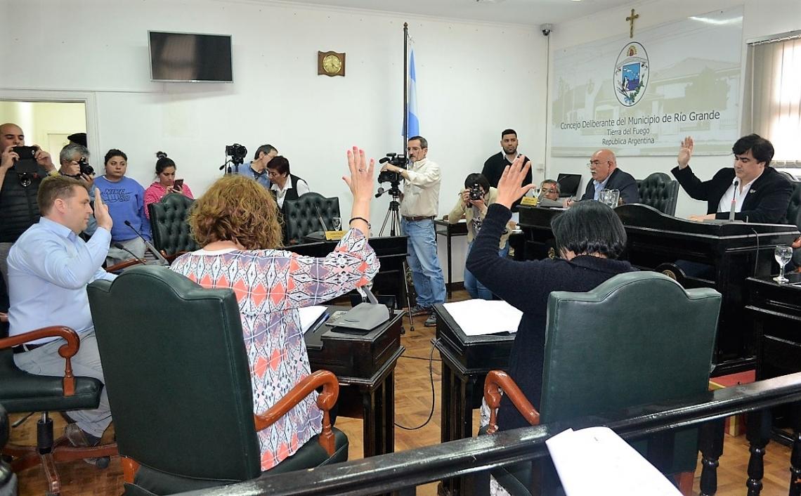 Sesión Especial: El Municipio de Río Grande, en sintonía con el Gobierno