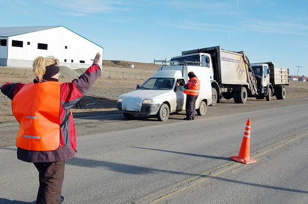 La Dirección de Transporte retome los controles en la Ruta 3.