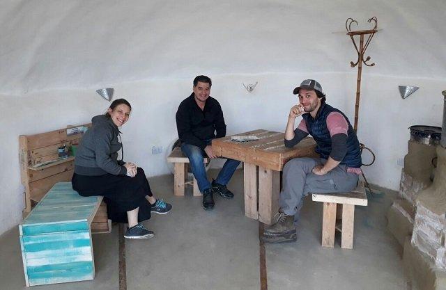Mariano Torre y Elena Roger reafirmaron su compromiso con Nave Tierra