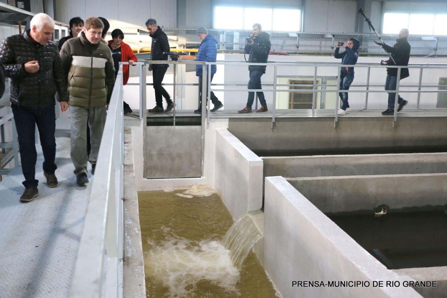 Se puso en funcionamiento la nueva planta potabilizadora de agua