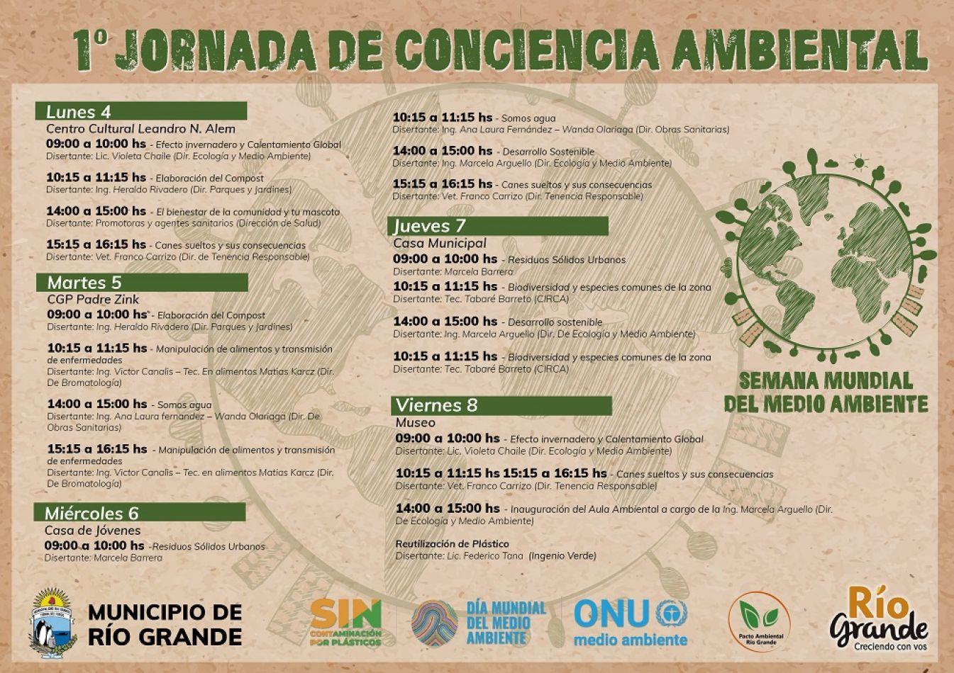 1° Jornada de Conciencia Ambiental