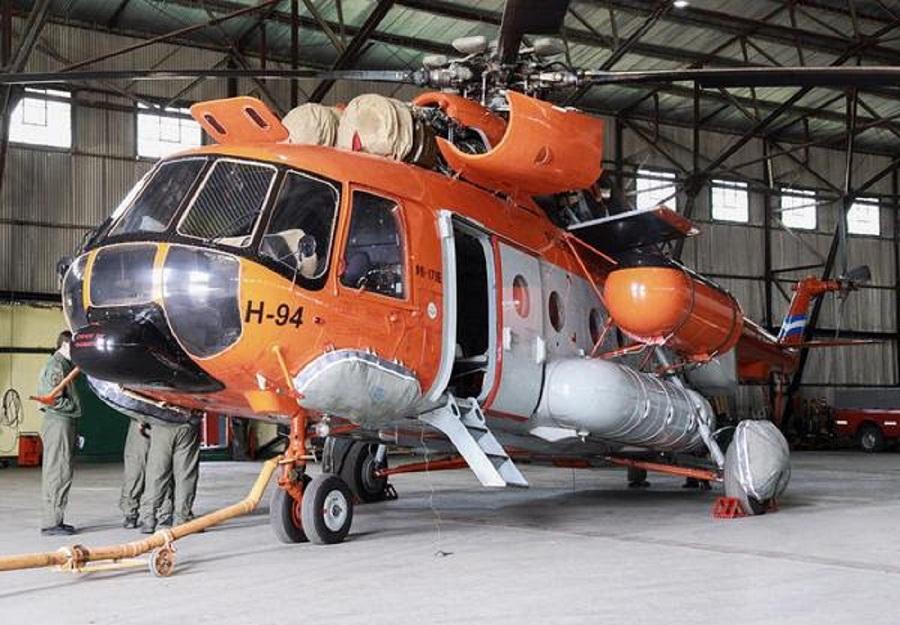 Arribaron los helicópteros que participarán de la Campaña Antártica