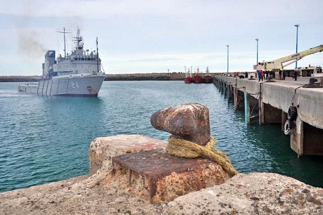 Búsqueda del Submarino: Ushuaia se prepara para recibir al ARA Islas Malvinas