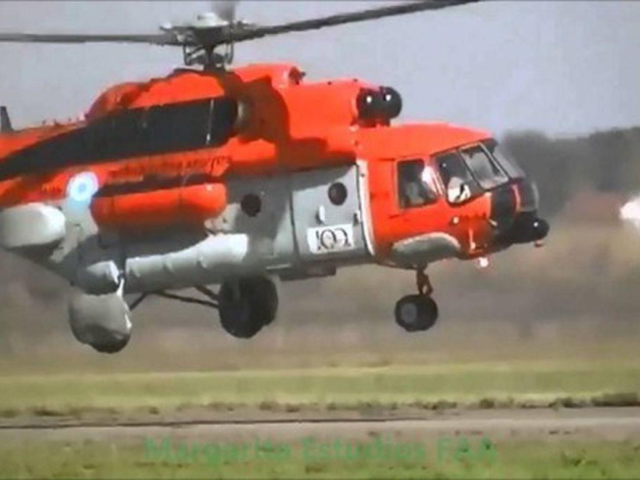 Aterrizó de emergencia el helicóptero con la comitiva presidencial