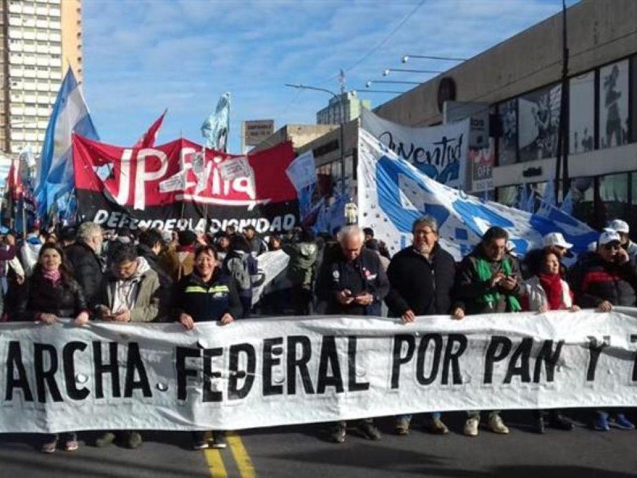 Marcha Federal en Plaza de Mayo