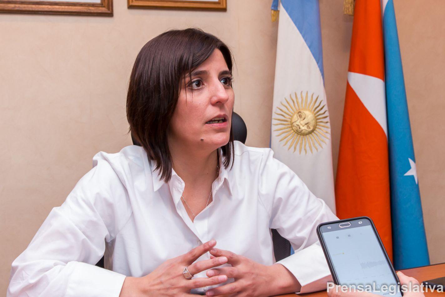 Angelina Carrasco presidirá Justicia y Seguridad en el Parlamento