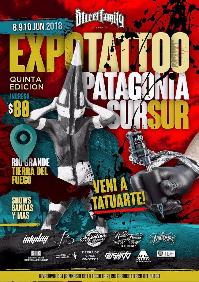 Expo Tattoo Patagonia Sur Sur