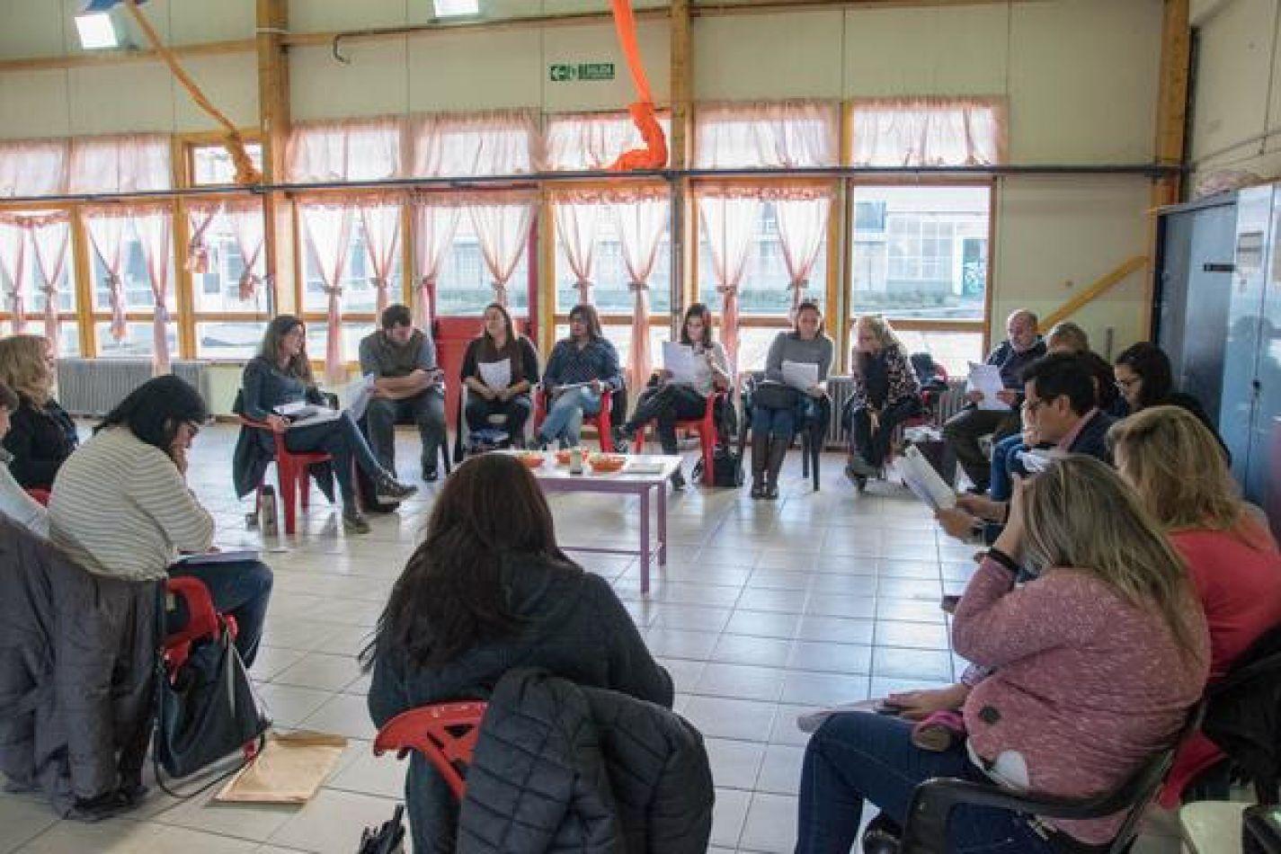 Reunión del Consejo de Niñez, Adolescencia y Familia en Ushuaia