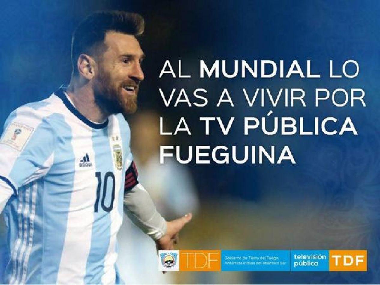 Tierra del Fuego será alentará a la selección Argentina