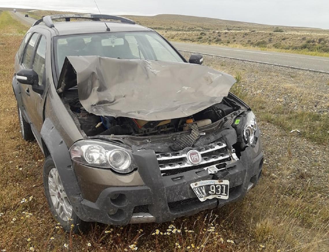 Funcionario de Gobierno, protagonizó un accidente cerca de Río Gallegos