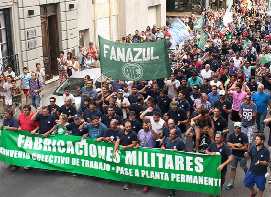 Fabricaciones Militares: Crece la tensión por los despidos de personal