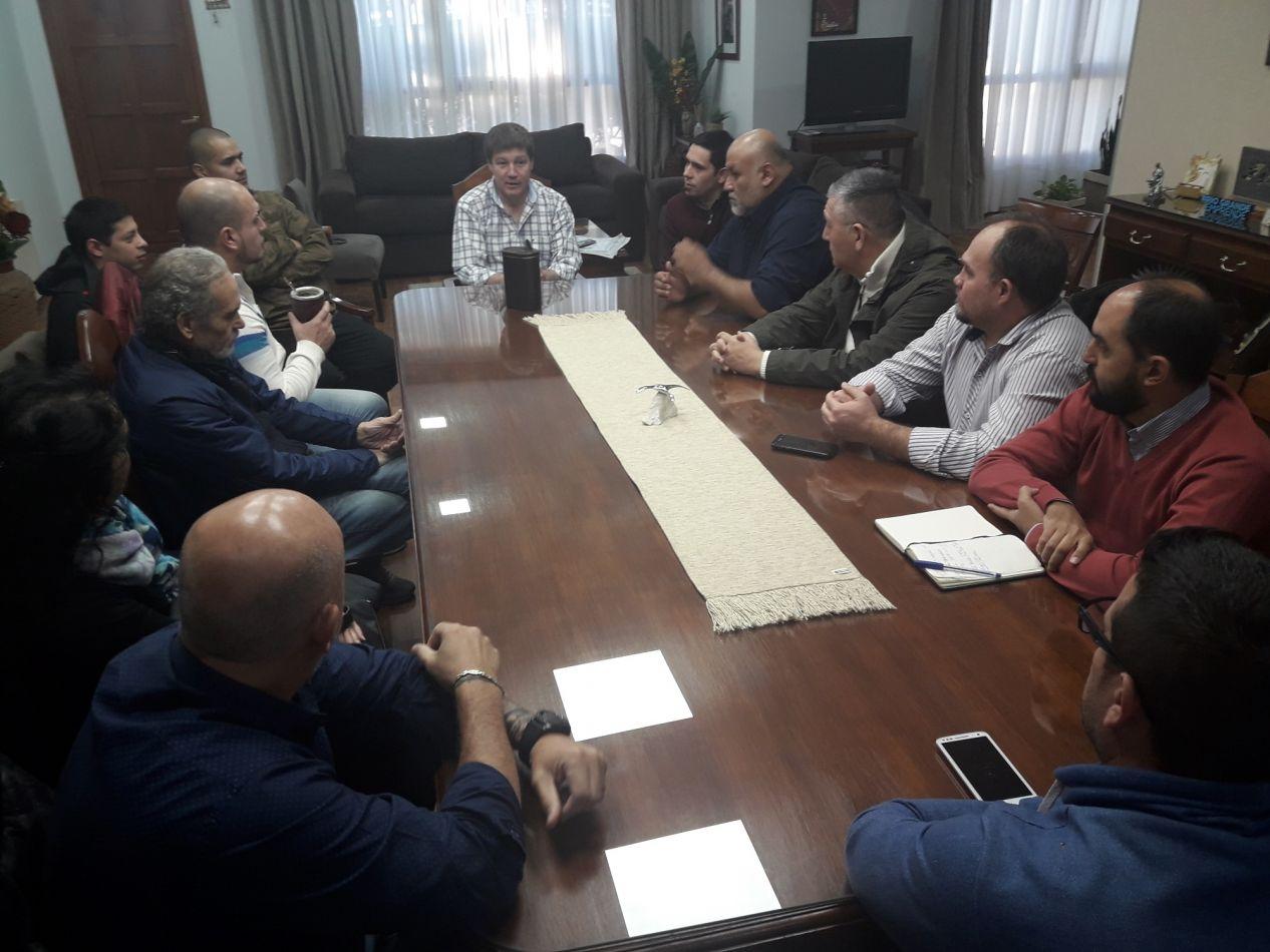 Encuentros con representantes de la UOM y de la CGT local