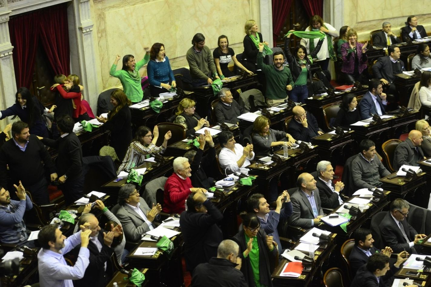 Diputados  en el Senado