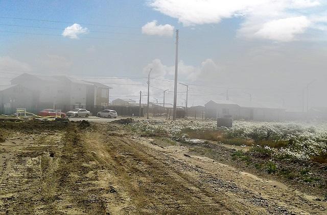 La tormenta de polvo vuelve a azotar la ciudad de Río Grande