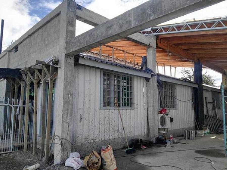 Avanza la ampliación de la sucursal del banco de Tierra del Fuego en Tolhuin