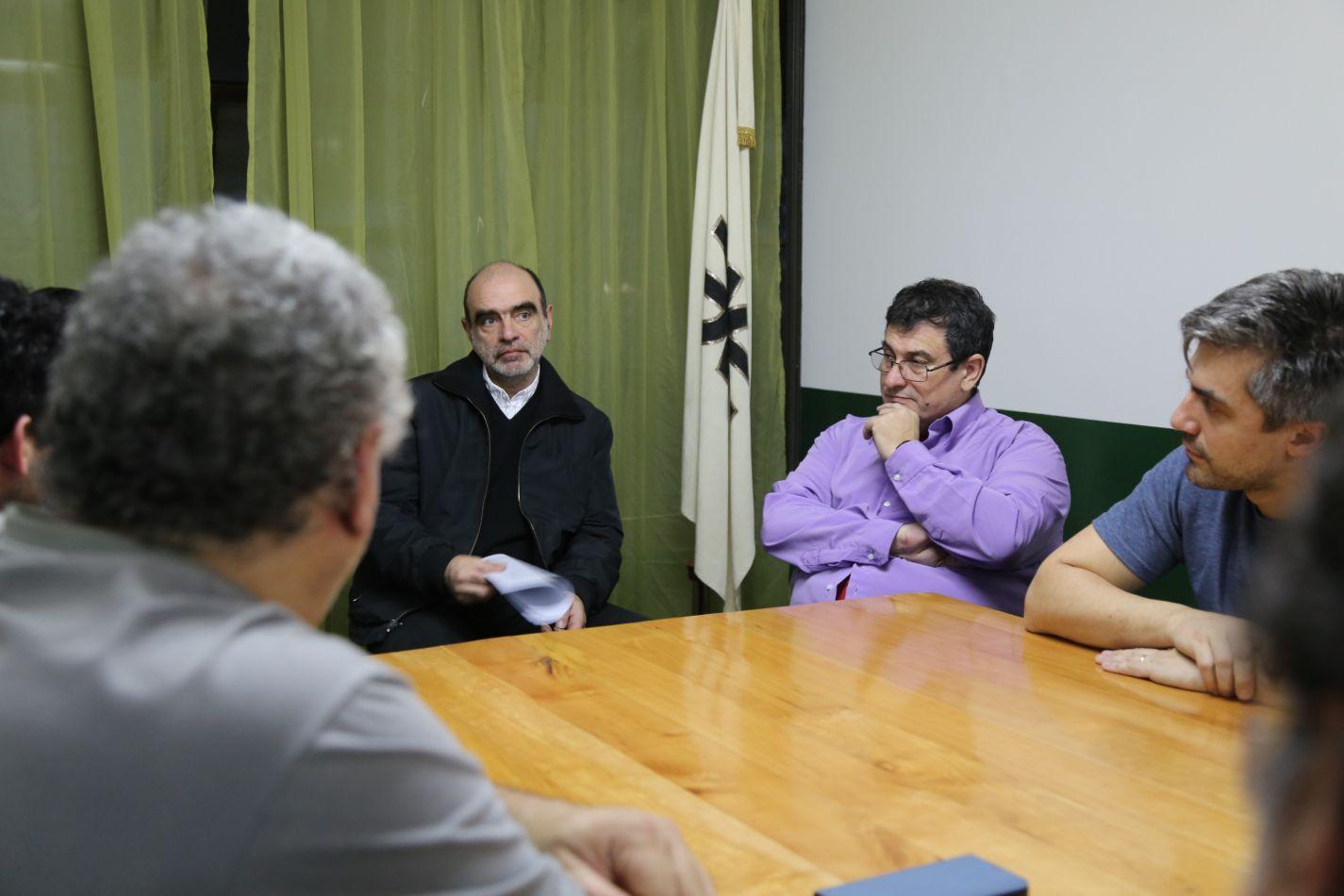 Reunión con autoridades de la UTN