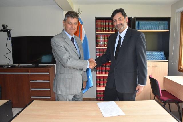El Dr. Horacio Artieda asumió como Médico Forense en el Distrito Judicial Sur