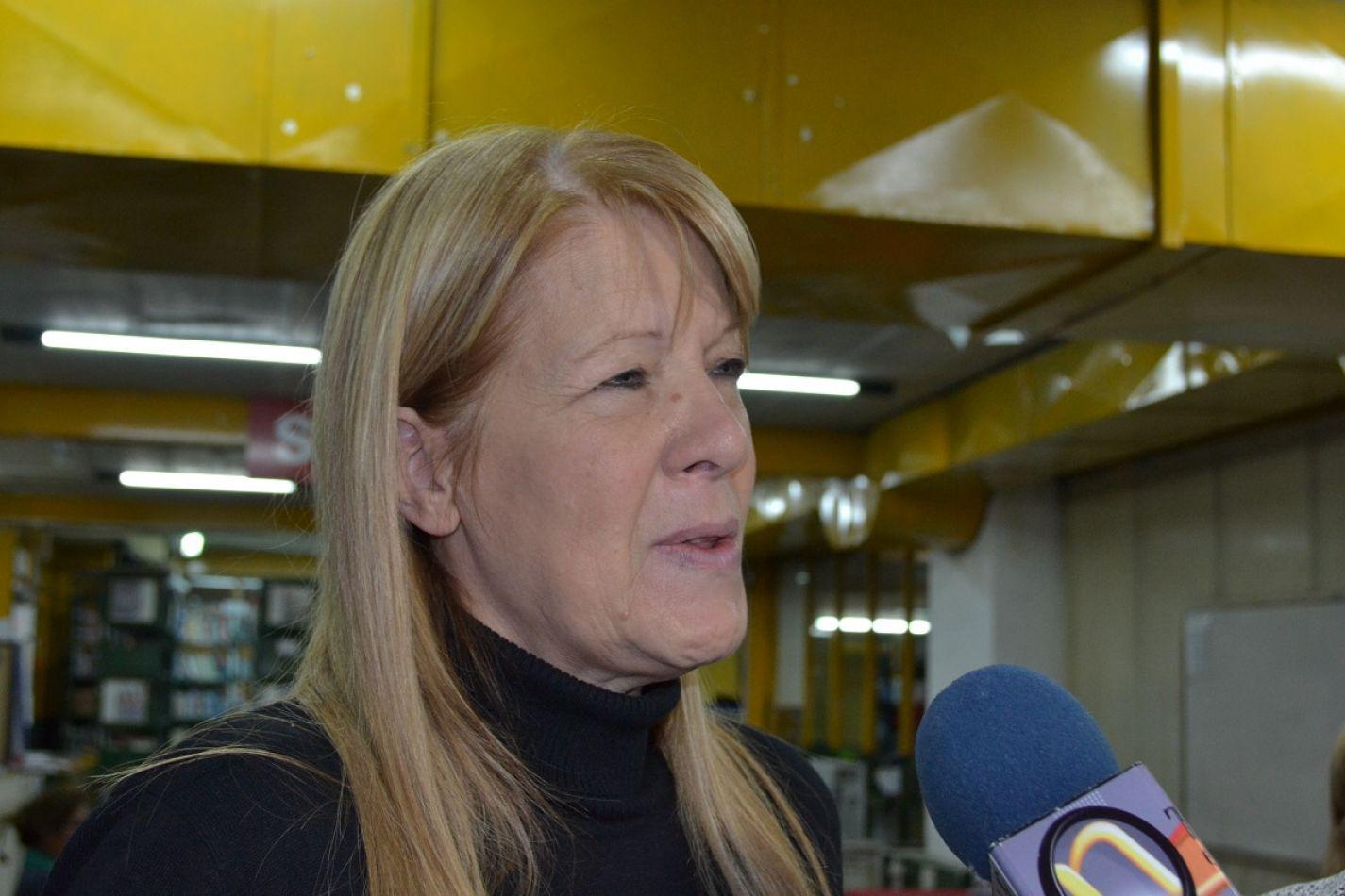 La líder del GEN compartirá una disertación con la Dra. Carmen Bataini.