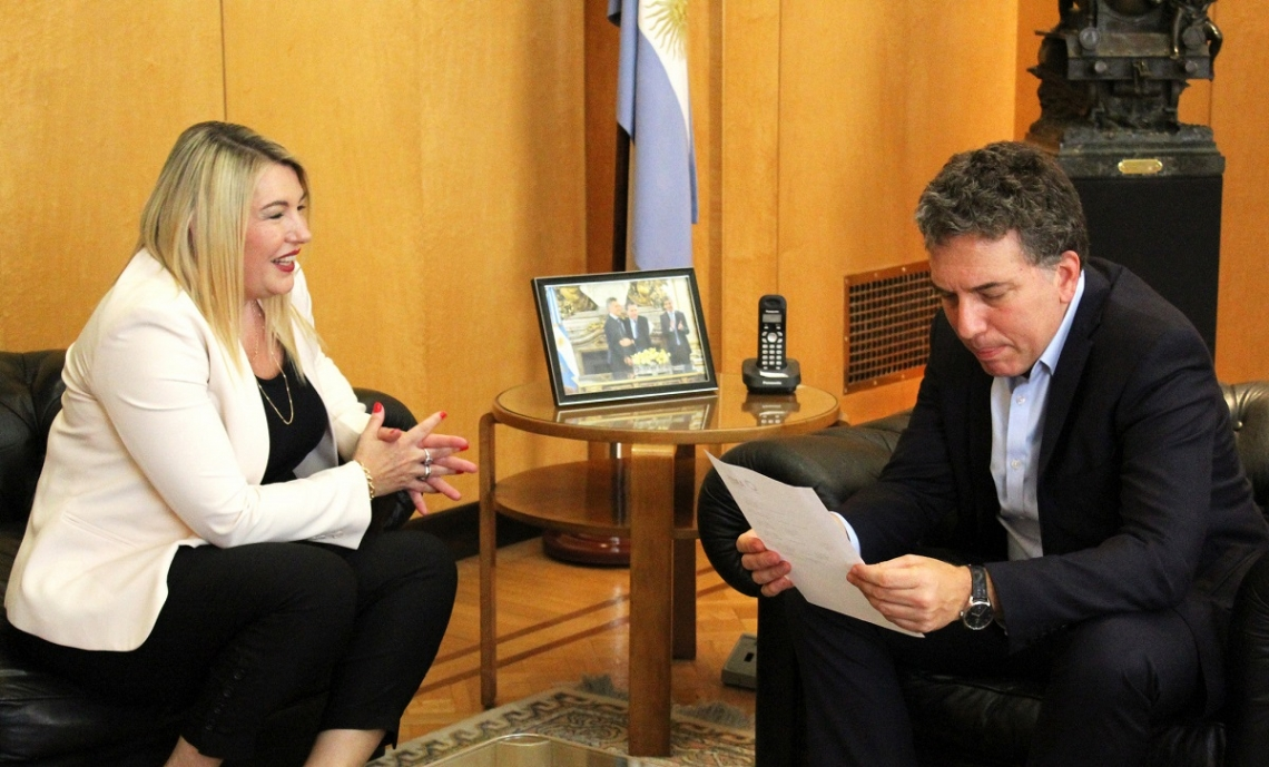 Bertone pidió a Nación asistencia para crear 1260 puestos de trabajo