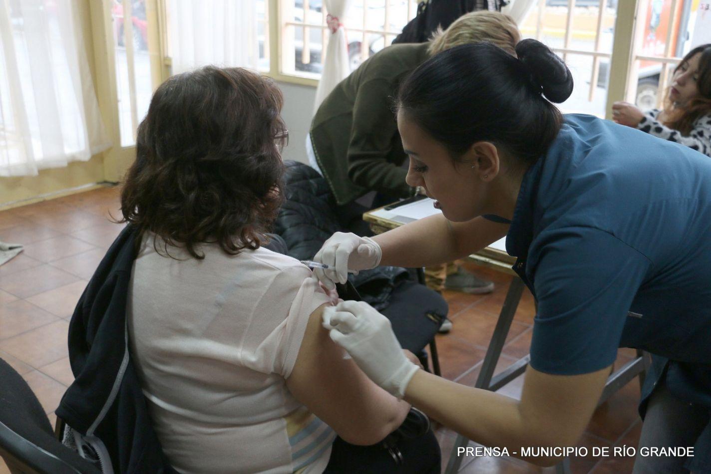 Vacunación contra la gripe