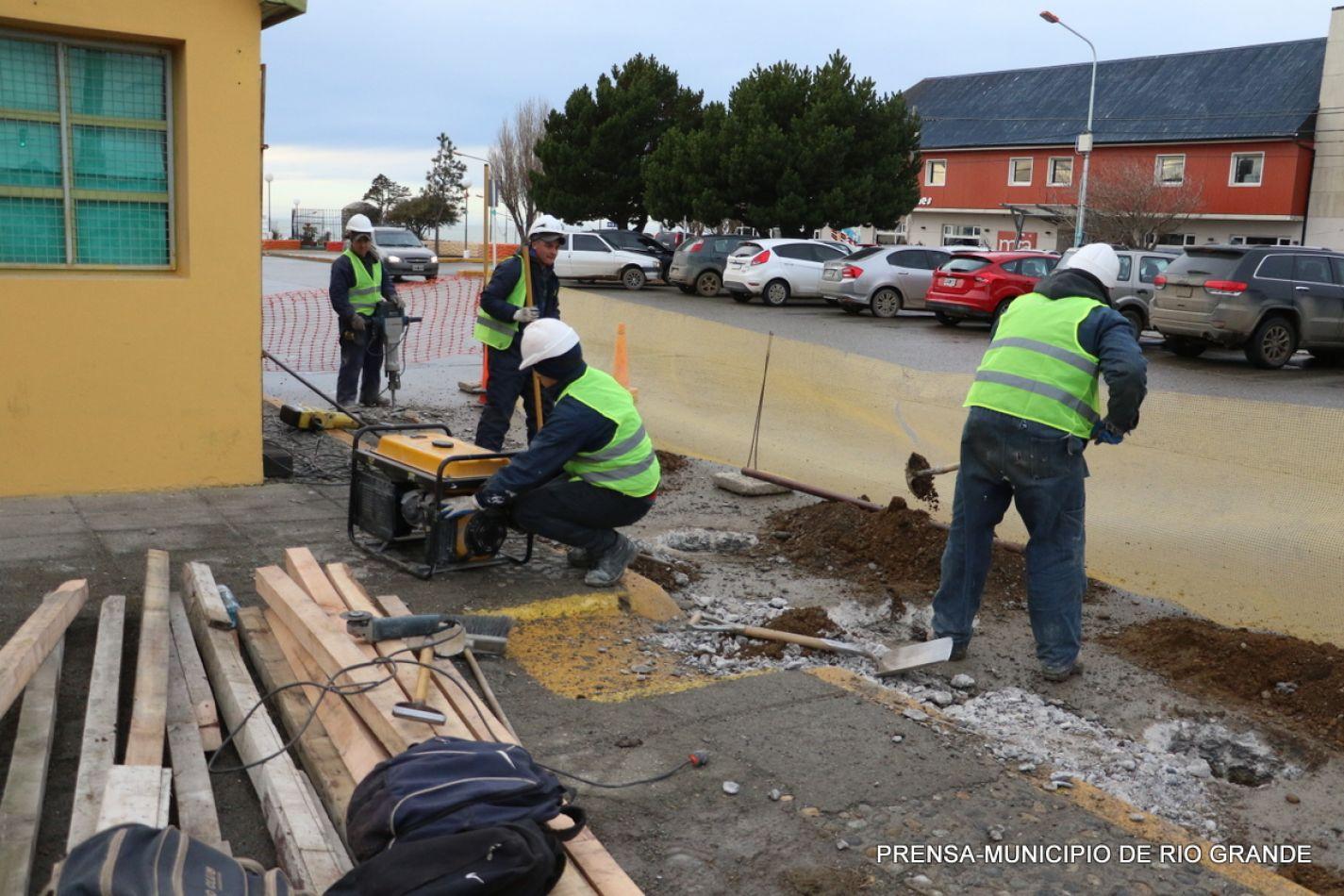 Inicio de construcción del Centro de Transferencia