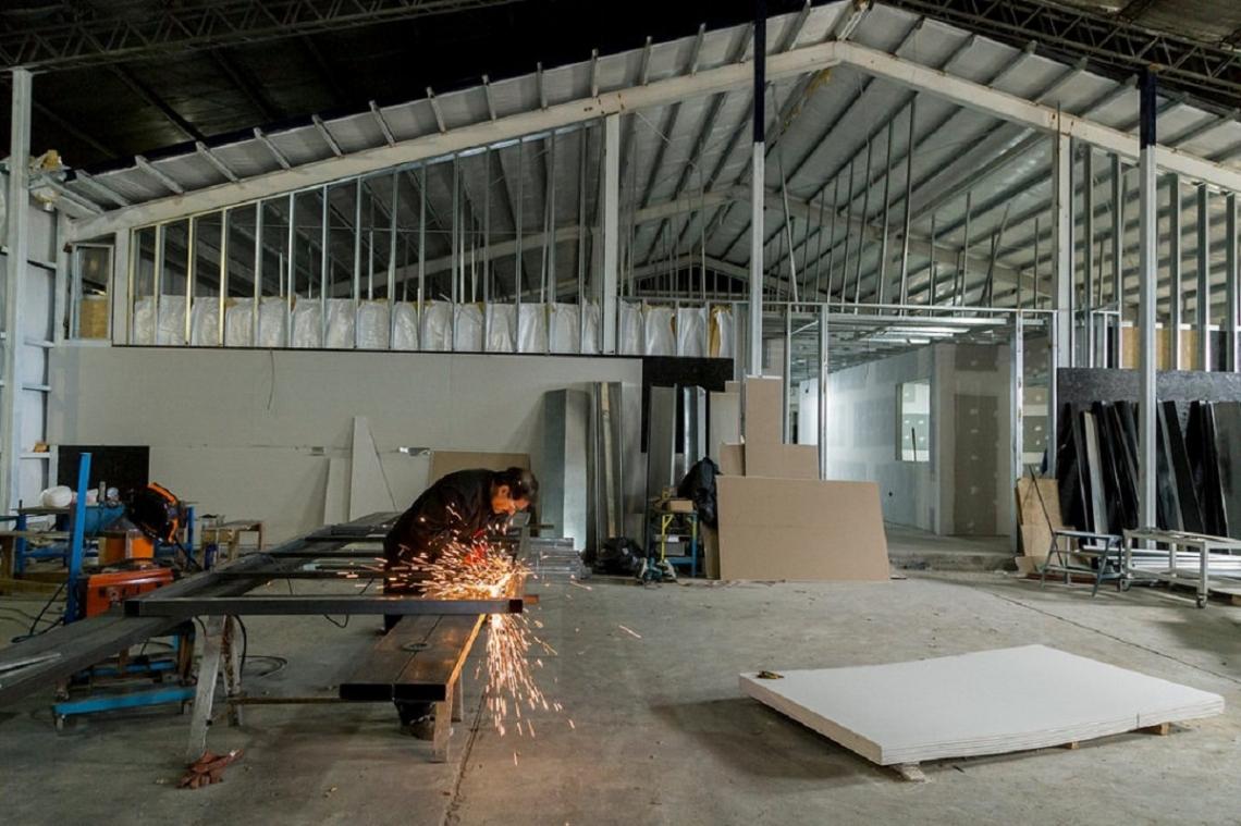 La obra del edificio del CenTec registra un avance del 75%