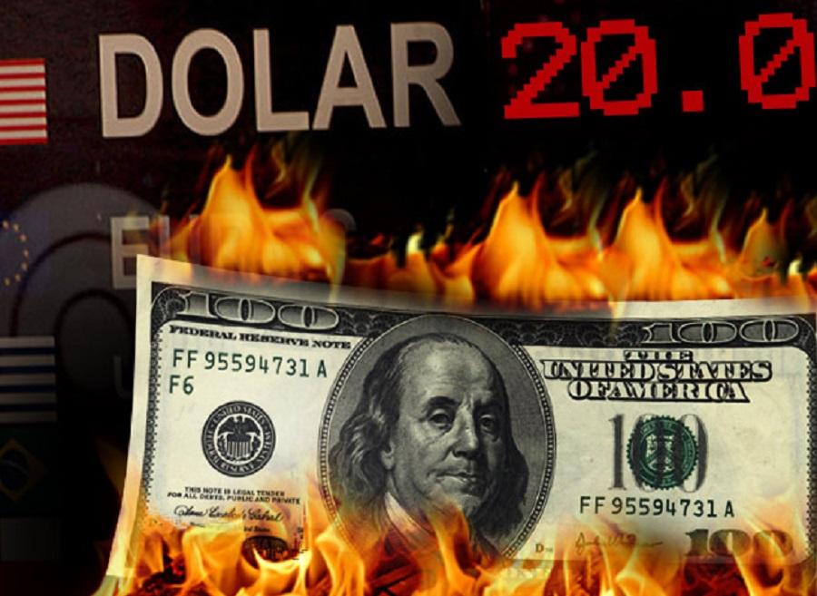 """El dólar arriba de los $20: El Banco Central no intervendrá y dejará que la divisa """"fluya"""""""