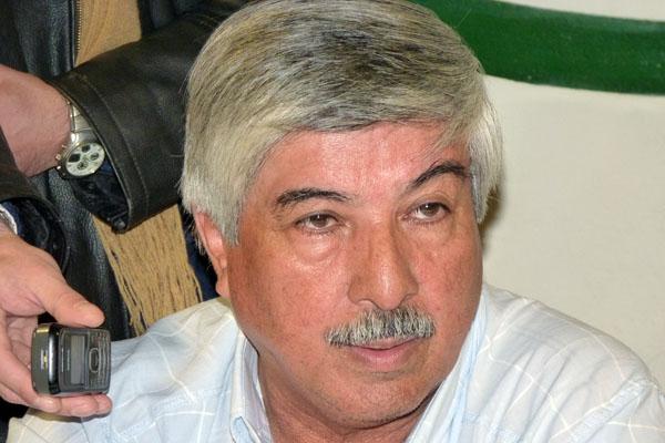 Secretario general de la seccional Río Grande de ATE, Carlos Almirón.